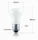 "Pilzlampe 60 Watt ""Superlux-Krypton"""